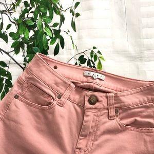 Cabi Women's Nectar Pink Curvy Skinny Jeans Size 2